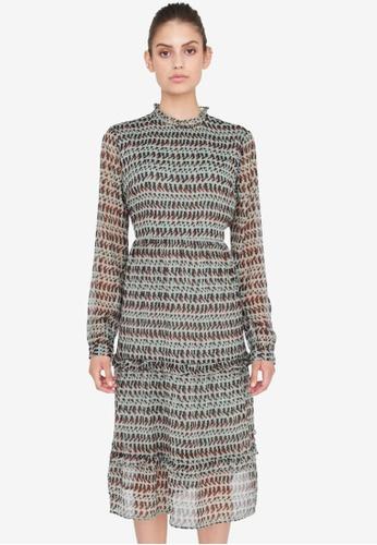Noisy May grey Ena Dress EE331AAC52552CGS_1