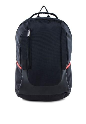 撞色滾邊筆電後背包, 包, esprit bag電腦包