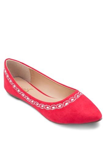 Diamante Flats, 女鞋, 芭蕾平esprit taiwan底鞋