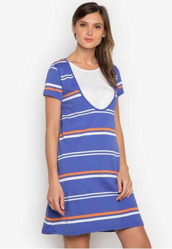 Le Tigre blue Ladies Dress LE798AA0K40VPH_1