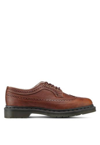 Dr. Martens brown Core Originals 3989 Brogue Shoes DR086SH0SX68MY_1
