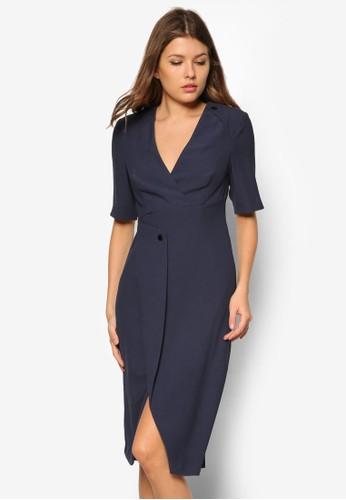 Eamont 裹式連身裙, 服飾,zalora 台灣 服飾