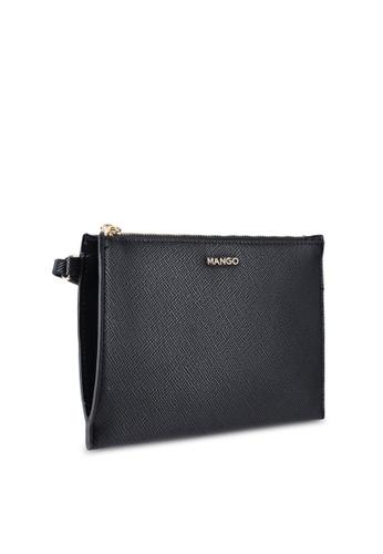 6f1ef54be0b Buy Mango Saffiano-Effect Cosmetic Bag Online on ZALORA Singapore