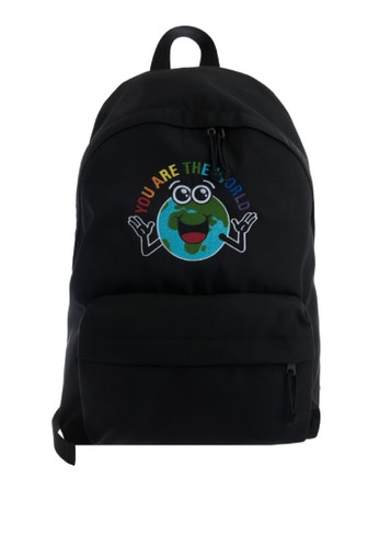 Balenciaga black Explorer Backpack  (zt) 259E2AC4591110GS_1