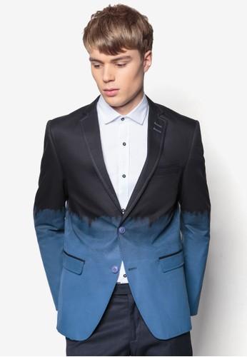 雙京站 esprit色貼身西裝外套, 服飾, 外套