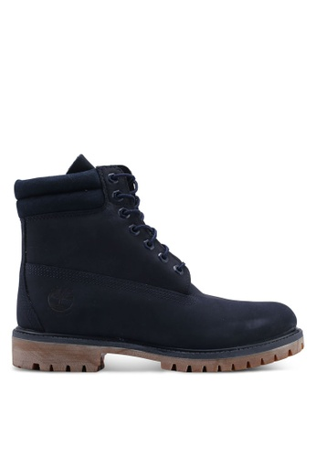 Timberland blue and navy Timberland Premium 6 Inch Waterproof Boots 4EEF7SHC47FA2AGS_1