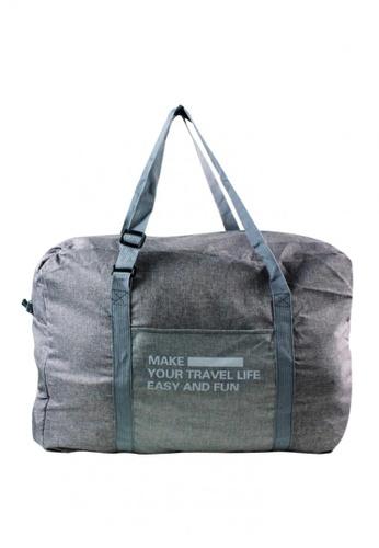 Shop Travel Manila Weekeight Denim Foldable Duffle Bag Online on ZALORA  Philippines 04329b58fdfb6