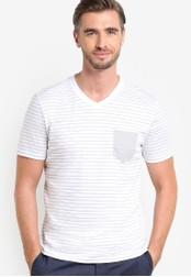 Boss Green white C Eraldo T-Shirt BO516AA89MDAMY_1