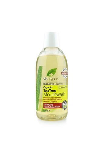 Holland & Barrett Dr Organic Antibacterial Tea Tree Mouthwash 500ml DCF5EES6FF2532GS_1