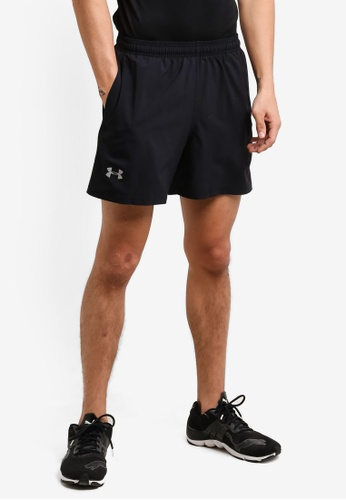 Under Armour black UA Launch SW Shorts UN337AA0RANUMY_1