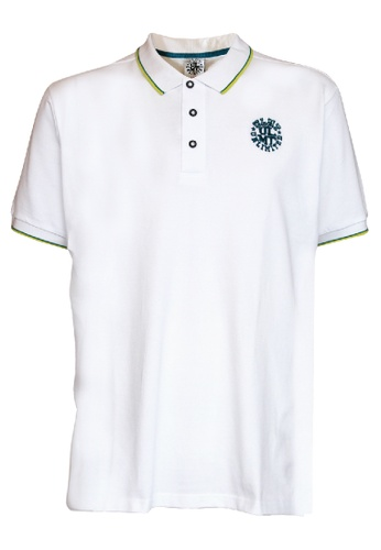 ULMT Unlimited white UlMT Unlimited Extra Large Polo Short Sleeve Tee 1XL-6XL Plus Size ULMT200002 (White) C966CAAE9DD0CCGS_1
