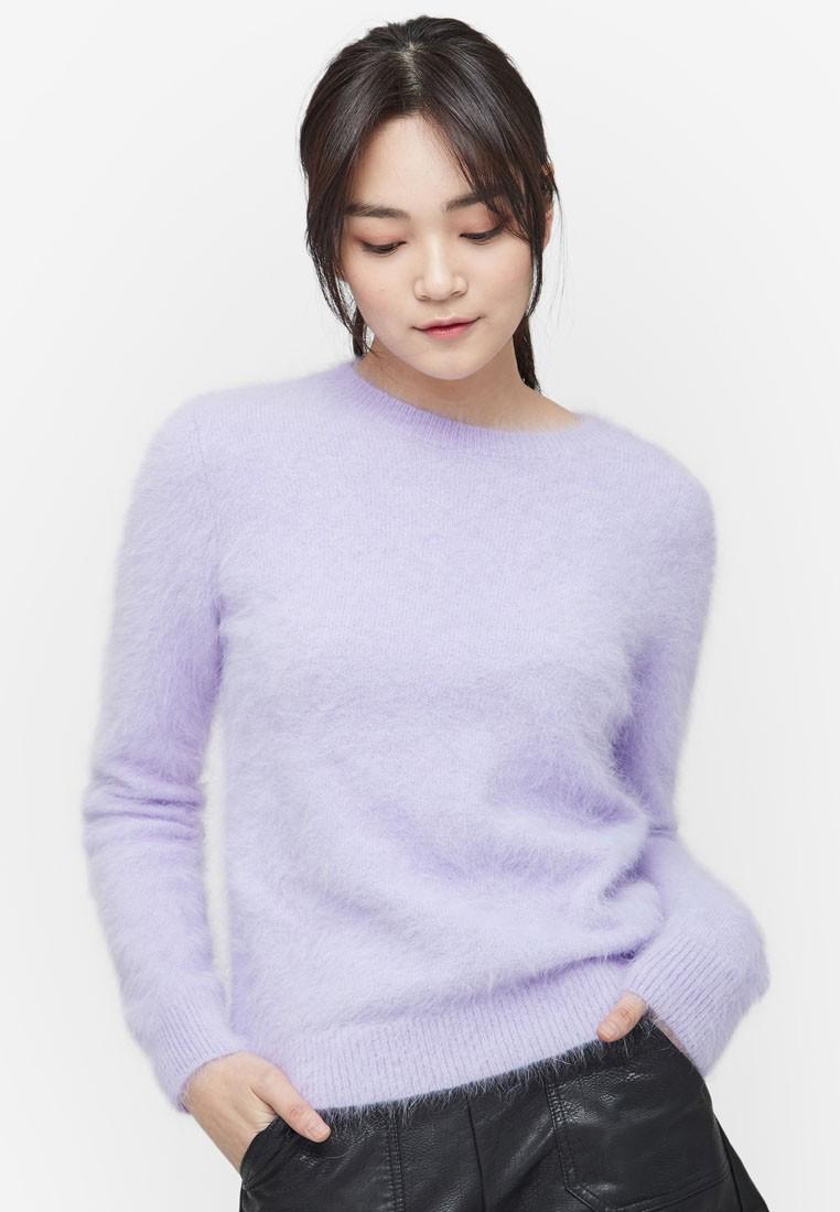 Angora Wool Knit Top