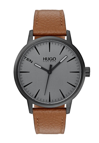 Hugo Boss grey HUGO #Stand Grey Men's Watch (1530075) C28B7ACB5DF242GS_1