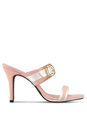 Spiffy pink The Simple Elegant Ladies Heels 2A6E8SH819D27EGS_1