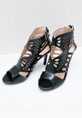 Jual Berrybenka Label Tiffany Decha Heels Black Original