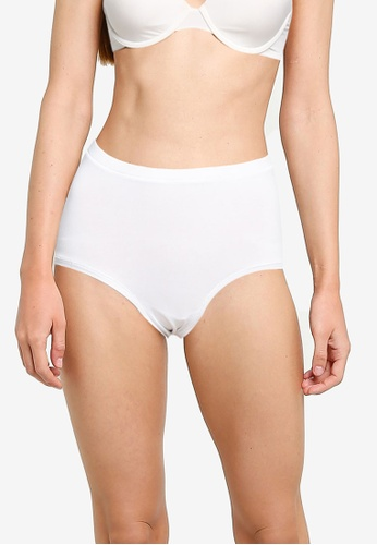 JBS of Denmark white Cotton Maxi Briefs FFE24USBD0D1F2GS_1