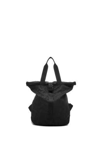 BONIA black Black Mantra Dot-Way Backpack with Dual Top Handle 2761FAC58471B8GS_1