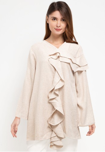 Covering Story beige Donal Top - C C6329AAB384C9EGS_1