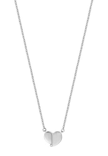 ESPRIT silver ESPRIT [Feel] Silver Sterling Silver Necklace (42 cm + 3 cm extension) 3DF64AC63A377AGS_1