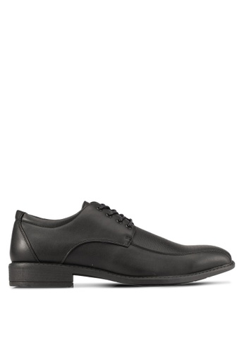 Knight black Lace Up Formal Shoes KN875SH0S9RNMY_1