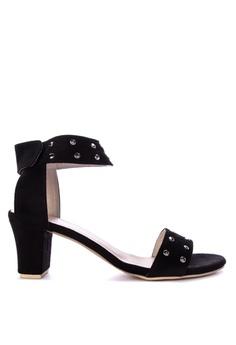 bf4252164 Shoo In black Xhu Heels A8E80SH95C074FGS 1