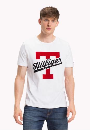 d02b835004dae5 Buy Tommy Hilfiger T-SCRIPT LOGO TEE Online on ZALORA Singapore