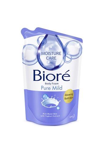 Bioré Sabun Mandi Cair Biore Bath Body Foam Pure Mild Pouch - 450 ml 847F5ES98307B3GS_1