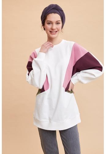 DeFacto beige Woman Knitted Long Sleeve Sweat Shirt 619BFAAF4C2006GS_1
