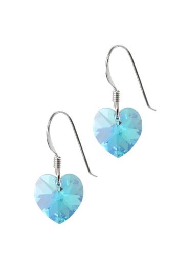 d3b82439b Buy BOUTIQUEHK Sterling Silver Crystal Heart Earrings | ZALORA HK