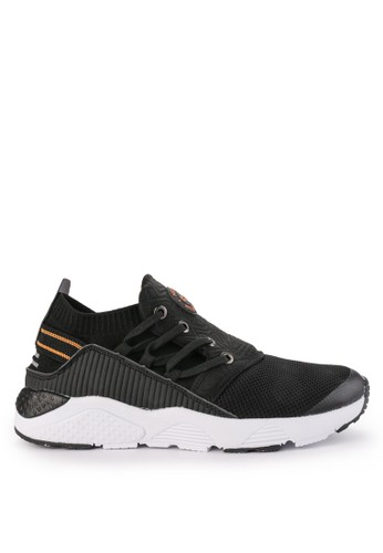 No Fear black Injection Sneakers Shoes A1D87SHD1840CEGS_1