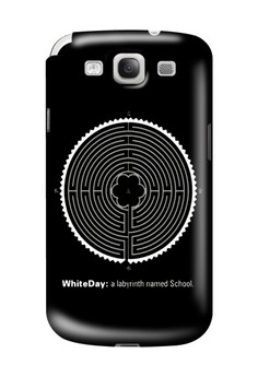 White Day Glossy Hard Case for Samsung Galaxy S3