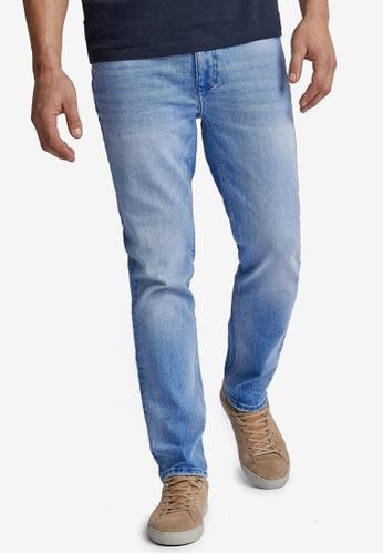Burton Menswear London blue Deep Blue Washed Slim Jeans F929BAAE0AD436GS_1