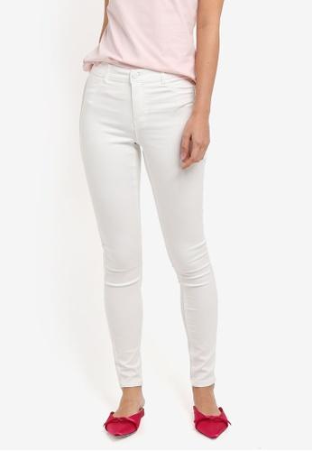 Dorothy Perkins white White Frankie Jeans 552DDAA782EF69GS_1