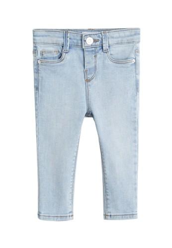MANGO BABY blue Slim-Fit Jeans 9B19DKAA103F39GS_1