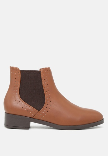 London Rag brown Slip-On Chelsea Boots 1347FSH77D3338GS_1