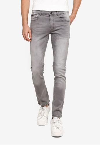 Indicode Jeans grey Culpeper Slim Fit Jeans 145C3AAEF0E91FGS_1