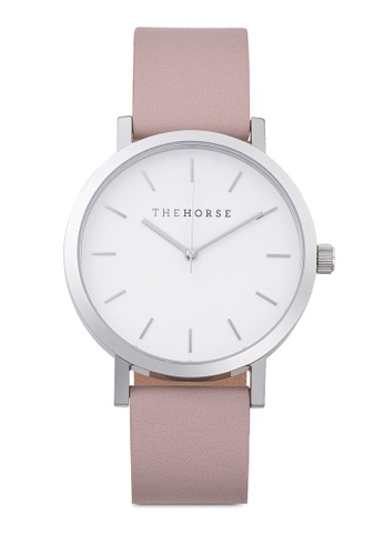 The Horse white and pink and silver The Original Watch C6294AC9A892AFGS_1