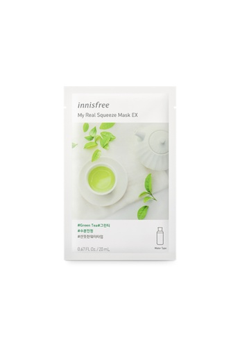 Innisfree My Real Squeeze Mask EX - Green Tea - 10 sheets 9CFB0BE5308751GS_1