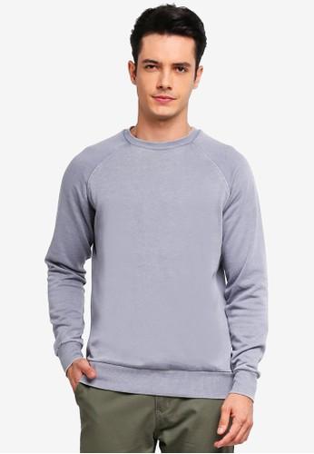 Brave Soul grey Crew Neck Sweatshirt 5F72AAA9184412GS_1