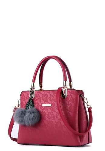 TCWK red TCWK Korea Style Red Ladies Handbag TC258AC0RRZQMY_1