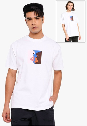 OBEY white Hers Tee 255D5AA312E469GS_1
