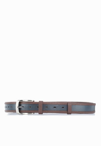 Life8 brown Casual Leather Belt-05367-Brown 58225AC283C73EGS_1