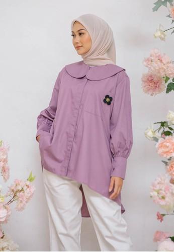 HijabChic purple HC x Nada Feverfew Purple 3AEF9AA79BE2BAGS_1