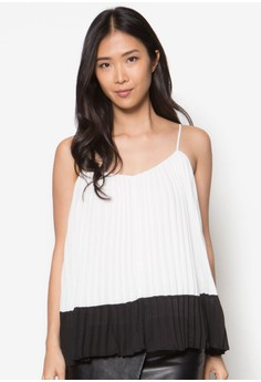Collection Colourblock Pleated Cami