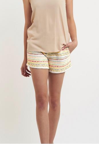 Akosée multi Noosa Tweed Shorts 4C1D5AA7A93046GS_1
