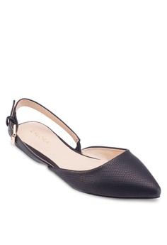 Slingback Pointed Ballerinas