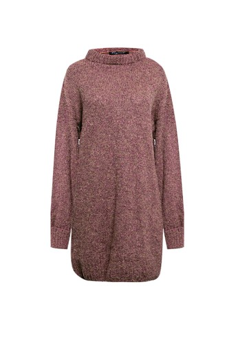 VOYANT BY MEGUMI purple Knit Wool Blend Sweater 2D7BCAA45B2281GS_1