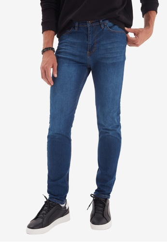 Trendyol blue Indigo Skinny Jeans 61568AAFB10D9CGS_1