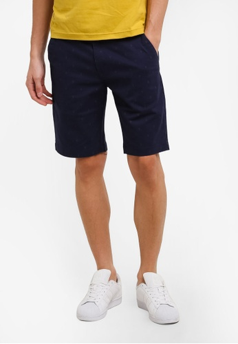 Marc & Giselle navy Bermuda Shorts MA188AA0RTKNMY_1