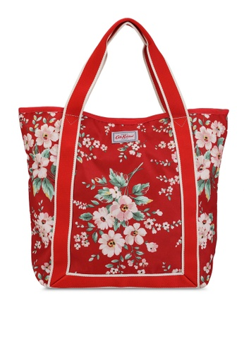 Cath Kidston red Spitalfields Webbing Tote Bag 6935AAC5591DBBGS_1
